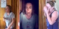 KORKU FILMI - Ablasını Bıkmadan Usanmadan Her Gün Korkuttu !