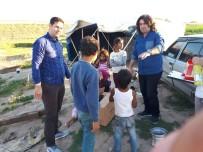 KARAKÖPRÜ - Bismil'de Yoksul Ailelere Gıda Paketi Yardımı