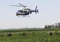 BAHÇELİEVLER - Droneli, Helikopterli Film Gibi Uyuşturucu Operasyonu