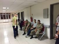 TUR YıLDıZ BIÇER - Hastaneye Kaldırılan Askerler Taburcu Edildi