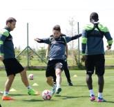 AKHİSAR BELEDİYESPOR - Konyaspor'da Kupa Maçı Hazırlıkları