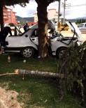 YELTEN - -Korkuteli'de Trafik Kazası 1 Ölü