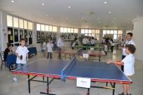 YÜKSEL YALOVA - Kültür Merkezinden Masa Tenisi Turnuvası