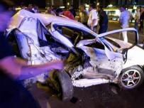 RAMAZAN CAN - Polis Aracı Kaza Yaptı Açıklaması 1 Ölü, 5 Yaralı