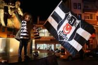 Artvin'de Beşiktaşlı Taraftarlar Şampiyonluğu Kutladı