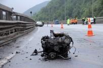 Bolu Dağı'nda Kaza Açıklaması 3 Yaralı