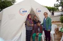 KUMKUYUCAK - Depremzedeler İçin 180 Çadır Kuruldu