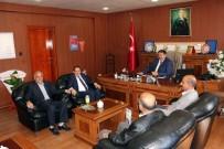 EĞITIM BIR SEN - Memur-Sen'den Milli Eğitim Müdürü Turan'a Hayırlı Olsun Ziyareti