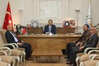 CUMHURBAŞKANLIĞI - MHP'den Genel Sekreter Yalçın'a Ziyaret