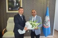 SOSYAL SORUMLULUK - MÜSİAD İzmir'den İl Milli Eğitim Müdürüne Ziyaret