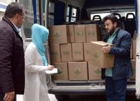 SOSYAL SORUMLULUK PROJESİ - Osmangazi'de Erzaklar Sahiplerine Ulaştırılıyor