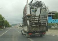MİNİBÜS ŞOFÖRÜ - Samsun Trafiğinde Tehlikeli Yolculuk