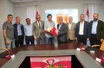 SAMSUNSPOR - Samsunspor, Özköylü İle Yollarını Ayırdı