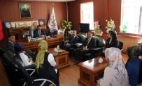 İL MİLLİ EĞİTİM MÜDÜRÜ - Sözleşmeli Öğretmenlerden Milli Eğitim Müdürü Turan'ı Ziyaret Etti