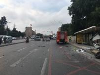 EDIRNEKAPı - Takla Atan Otomobil İçerisinde Sıkışan Sürücü Hayatını Kaybetti
