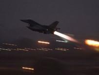 MÜHİMMAT DEPOSU - PKK'nın silah deposuna hava harekatı