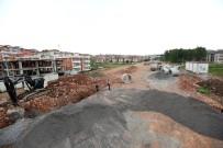 BÜYÜKŞEHİR BELEDİYESİ - Yavuz Selim Caddesinde Altyapı Çalışmaları Sürüyor