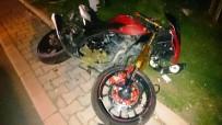 MUSTAFA DOĞAN - Yayaya Çarpan Motosiklet Sürücüsü Öldü