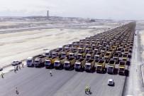 ORHAN KURAL - Yeni havalimanı '1453' kamyon ile İstanbul'u selamladı