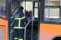 ÜNİVERSİTE ÖĞRENCİSİ - Yolcu Otobüsünde Yangın Çıktı