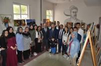 MURAT DURU - Ayhan Yıldırım Anadolu Lisesi Öğrencilerinden Resim Sergisi