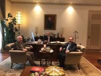 KASıRGA - Başkan Şahin, Fahri Kasırga İle Görüştü