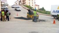 ALT YAPI ÇALIŞMASI - Bilecik'te Asfalt Onarım Çalışmaları Devam Ediyor