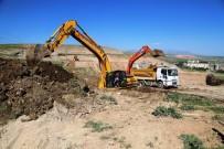 TEMEL KAZISI - Cizre Belediyesi 'Hayvan Pazarı Projesi' Çalışmalarına Başladı