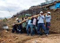 Dicle Elektrik Tepeleri Aşarak Yanan Trafoyu Değiştirdi