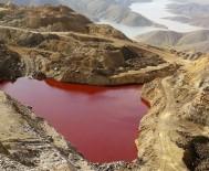 İÇMELER - Gölet Kızıla Boyandı