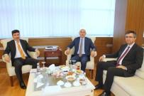 Hasan Kalyoncu Üniversitesi Rektörü Yılmaz'dan Rektör Karacoşkun'a Ziyaret