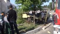 MİNİBÜS ŞOFÖRÜ - İstanbul'da Minibüs Kazası Açıklaması 6 Yaralı