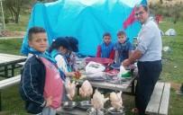 TERMAL TURİZM - İzci Öğrencilerin Kampında 'Tenekede Tavuk Kebabı' Etkinliği