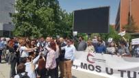 BASIN ÖZGÜRLÜĞÜ - Kosovalı Gazetecilerden 'Korkma, Konuş' Eylemi