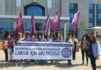ZEKA GERİLİĞİ - Otobüste Hemşireye Tekme Atan Sanığın Davasının Görülmesine Devam Edildi