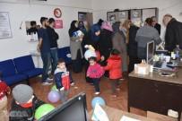 DİFTERİ - Suriyeli Çocuklara Aşı Yapılıyor