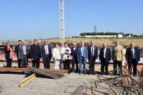 İLLER BANKASı - Tekirdağ Büyükşehir Belediyesi Yeni Hizmet Binası İnşaatı Hızla İlerliyor