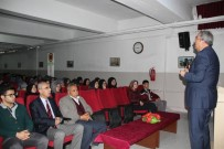 MUSTAFA KıLıNÇ - Ünver, Anadolu İmam Hatip Lisesinde Öğrencilerle Buluştu