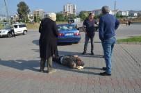 YıLDıZTEPE - Yaşlı Adama Çarpan Kadın Sürücü Büyük Şok Yaşadı