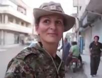 YPG - YPG'ye katılan Kanadalı manken Kobani'de ortaya çıktı