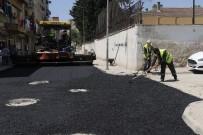 TURGUTREIS - Akdeniz'de Asfalt Çalışmaları Aralıksız Sürüyor
