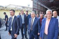 TURGAY ALPMAN - Bakan Arslan, Iğdır'da Esnafı Ziyaret Etti