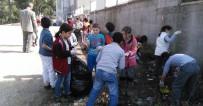 OKULLAR HAYAT OLSUN PROJESİ - Balya' Da Öğrenciler Çevre Temizliği Başlattı