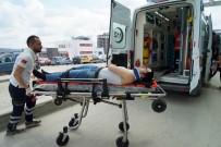 Cenazeye Giderken Kaza Geçirdiler Açıklaması 4 Yaralı