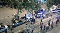DEMOKRASİ PARKI - Ceza Yazılan Motosiklet Sürücüsü İle Polis Arasında Gerginlik