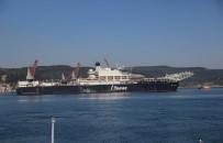 ÇANAKKALE BOĞAZı - Dev Gemi Çanakkale Boğazı'ndan Geçti