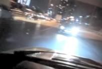E-5'Te Tehlikeli Görüntü Açıklaması Araç Geri Geri Seyretti