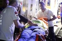 GAZİ MAHALLESİ - Eşiyle Tartışıp İlaç İçen Kadını, İtfaiye Balkondan Girerek Kurtardı