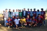 KUPA TÖRENİ - Eyyübiye Kampüsü Okulları Futbol Turnuvası Sona Erdi