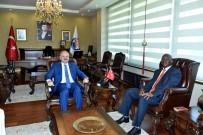 GÜNEY AFRIKA - Güney Afrika Cumhuriyeti Ankara Büyükelçisi Malefane Mersin'de